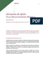 LYNCH 1993 Alvenaria de Tijolo o Seu to Historico