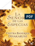 La Senora de Las Especias - Chitra Banerjee Divakaruni