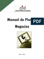 Manual de Plan de Negocio - CID
