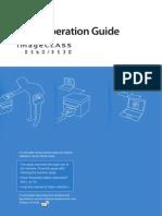 Canon ImageCLASS D530-D560 Printer Basic Operation Guide