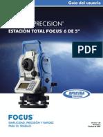 Manual Spectra Phisic Focus 6 para Topografia