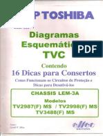 Circ.de Prot. Com Esquema e Dicas de Defeitos Mod.lem-3a