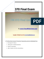 UOP FIN 370 Final Exam Free Answer