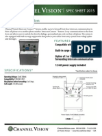 Channel Vision P-0922 Data Sheet