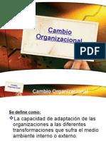 Cambio Organizacional Resistencia Al Cambio