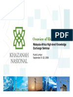 Khazanah the Role of GLCs - Sept 2006