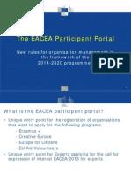 Participant Portal Eform