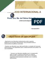 2015 Comércio Internacional a Apresentação
