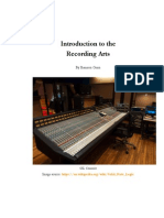 Introduction to the Recording Arts