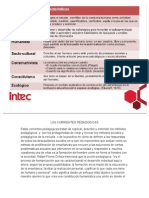Las Corrientes Pedagogicas