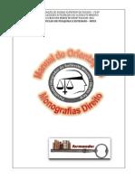 Manual Orientação e Formatação Direito 2014
