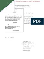 SEC v Spongetech et al Doc 350 filed 27 Aug 15.pdf