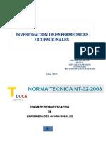 Presentacion_ergosalud Investigacion de Enfermedades