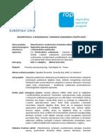Rekonštrukcia a modernizácia Stredného odborného učilišťa Holíč