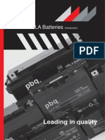 Www.psebatteries.com Media Datasheet Pbq Vrla Battery Introduction