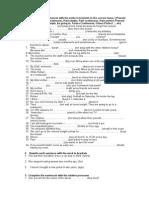1º Bachillerato Revision Final
