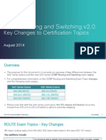 Ccnp Exam Topic Changes