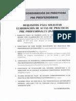 Elaboración de Actas Internado I y II (Item 7 Solo Internado II) 2015