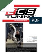 Audi B6A4 Front Wheel Bearing Replace