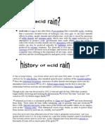 Acid Rain Original