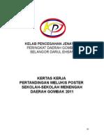 Kertas Kerja Pertandingan Melukis Poster