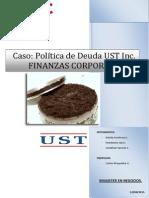 Política de Deuda en UST Inc