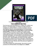 Lew White Nimrod Synopsis