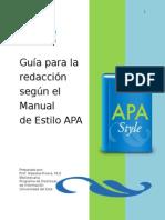 Guía Para La Redacción Segun Estilo APA 2014-UNE