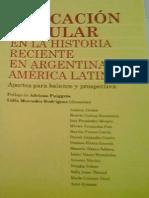 Educacion popular en la Historia Reciente en Argentina y America Latina