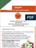1. Struktur Dan Klasifikasi Enzim