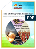 Current Affairs on Science and Technology 2014