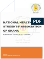 NAHSAG Normination Forms 2015