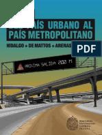 Del Pais Urbano Al Pais Metropolitano
