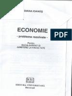 Culegere de Exercitii Economie