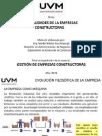 Generalidades de Las Empresas Constructoras Hecho Por MNRM A2