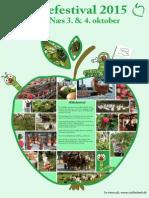 Æble Plakat 2015