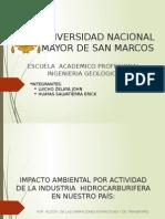 Oleoducto nor peruano y gas de Camisea