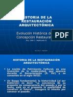 Historia de La Restauracion
