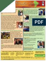June August 2015 Newsletter