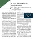 LTE Random Access Detection Based on a CA-CFAR Strategy (1)