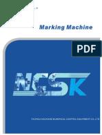 NCSK Marking Machine Catalogue