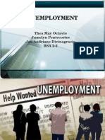 Unemployment BSA 2-2 (Octavio, Pentecostes, Divinagracia)
