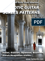 40 Exotic Guitar Scales Patterns (1)