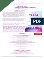 Taller de Tarot Octubre 2015
