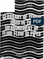 Fluid Flow - Glossary of Terms
