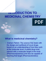 1 - Introduction to Medicinal Chemistry