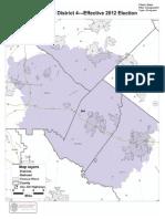 Cong. Dist. 4 Map