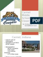 carmel middle school presentation