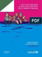 Guía Para Prevenir Maltrato Infantil