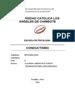 Monografia Conductismo